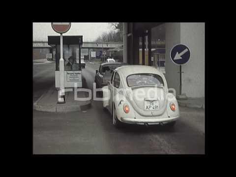 Interzonenverkehr zwischen der DDR und der BRD, 1972