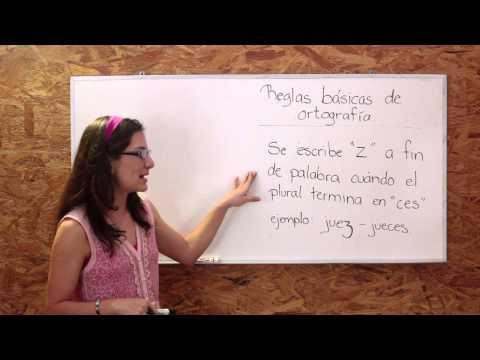 Reglas básicas de ortografía - Curso Gratuito Preparatoria Ceneval