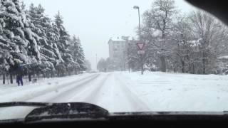 Maribor Slovenia  city pictures gallery : Streets in Maribor (Slovenia) at winter
