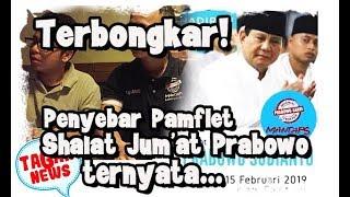 Video Terbongkar Noh Pembuat Pamflet Shalat Jumat Prabowo, Mau Pura2 Bego atau Tumbalin Relawan kayak bias MP3, 3GP, MP4, WEBM, AVI, FLV Februari 2019