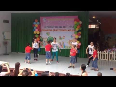Mầm Non Tây Thạnh - Điệu nhảy Lifebuoy - Lớp Lá + cô giáo
