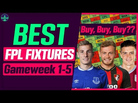 FPL BEST OPENING FIXTURES | IS LUCAS DIGNE MUST OWN? | FANTASY PREMIER LEAGUE TIPS 2019/20