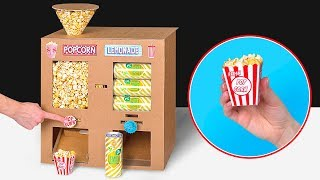 Video Cardboard DIY Plus Popcorn Plus Soda Plus Movies Equals Home Cinema MP3, 3GP, MP4, WEBM, AVI, FLV Januari 2019