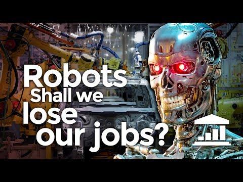 Why Is AMERICA Not Afraid of ROBOTS? - VisualPolitik EN
