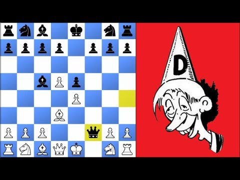 Chess Master gets checkmated in 4 moves and can't stop laughing