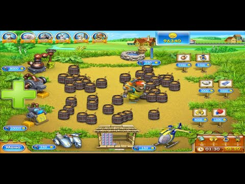 Играть весёлая ферма 3 русская рулетка на весь экран бесплатно