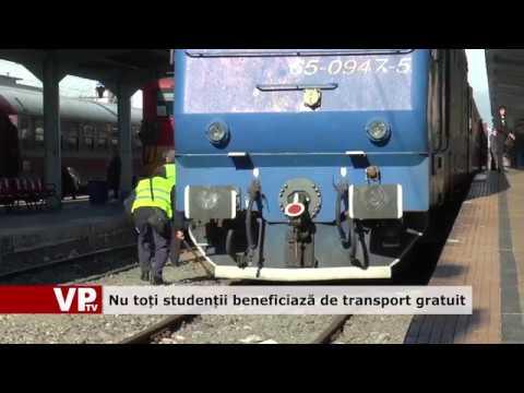 Nu toți studenții beneficiază de transport gratuit