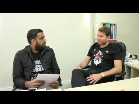 PART ONE - EDDIE HEARN Q & A (WITH KUGAN CASSIUS) - MAY 2016 / INC. BURNS & BELLEW TICKET GIVEAWAY