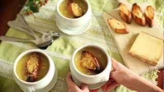 Przepis na zupę cebulową
