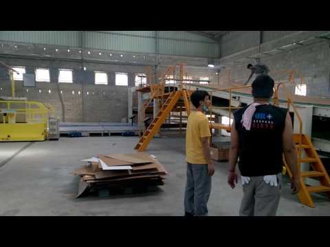 Dây chuyền sản xuất phôi giấy