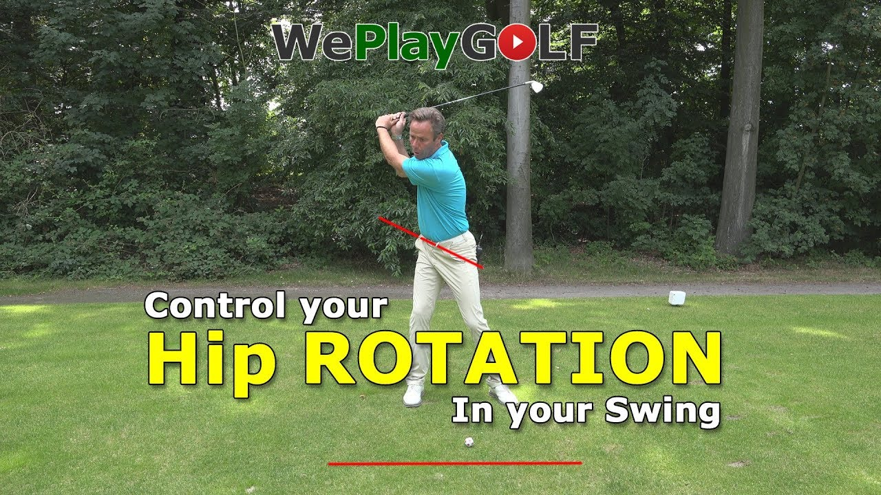 How to Control your hip rotation in your golf swing