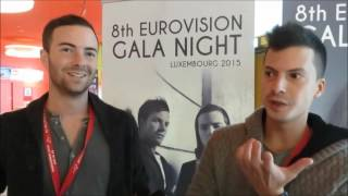 Luxembourg's Eurovision Gala 2015: Interview with SINPLUS (Switzerland 2012)