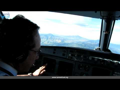 Flight Quito Cuenca Ecuador Airbus 320 Tame - HD