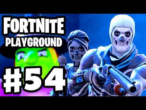 Hide and Seek with Zanitor! Skull Trooper Returns! Playground! - Fortnite - Gameplay Part 54