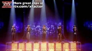 One Direction sing The Way You Look Tonight - The X Factor Live show 6 - itv.com/xfactor
