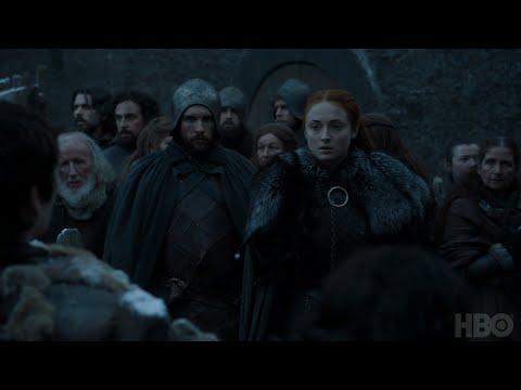 Game of Thrones: Season 7 Episode 3 Clip: Sansa and Bran (HBO)