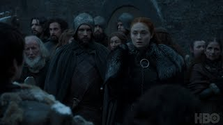 Watch a clip of Sansa and Bran's reunion in Game of Thrones Season 7 Episode 3. Game of Thrones airs on HBO on Sundays at...