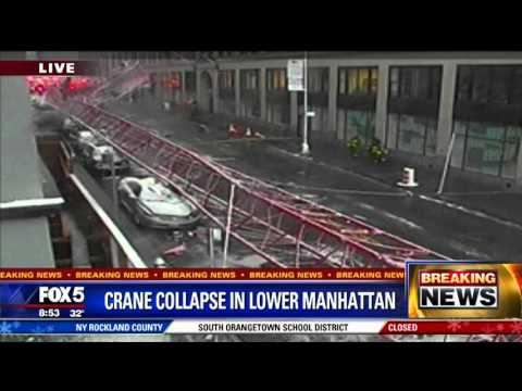 Viral: Deadly Crane Collapse in NYC