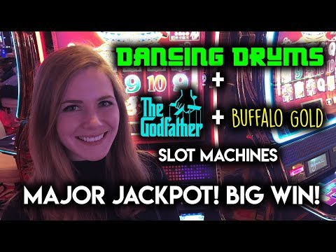 MAJOR JACKPOT! Dancing Drums Slot Machine! BIG WIN!!!