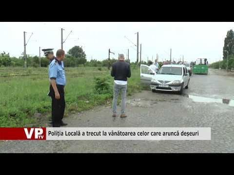 Poliția Locală a trecut la vânătoarea celor care aruncă deșeuri