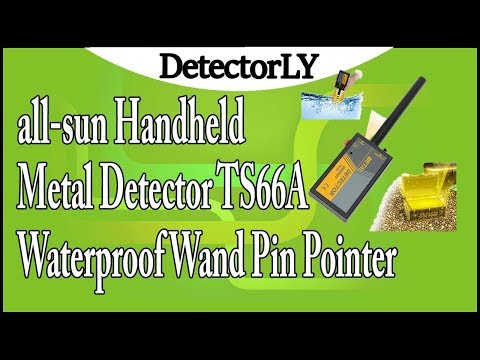 all-sun Handheld Metal Detector TS66A Waterproof Wand Pin Pointer Review