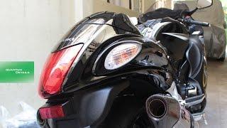 5. Quantum Details - Walkaround - Suzuki Hayabusa 2014 Yoshimura exhaust system