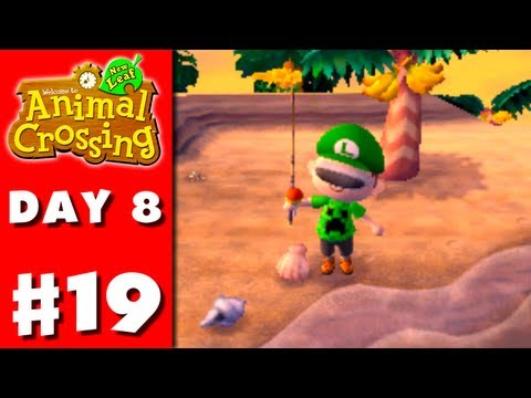 nintendo - Thanks for every Like and Favorite! They really help! This is Part 19 of the Animal Crossing: New Leaf Gameplay Walkthrough for the Nintendo 3DS! On Day 8, I...
