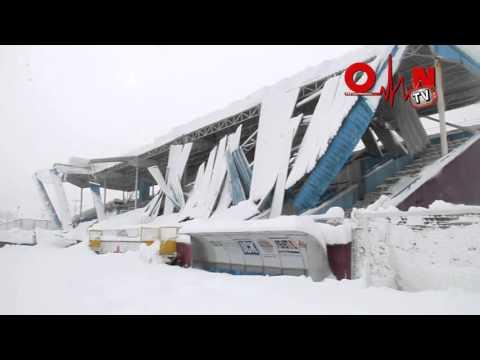 Ofspor Stadyumu çöktü
