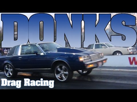 Racing to the Rim - Buick Regal Donks on 22's drag racing Kil-Kare dragway 2012. For more videos of cars with big wheels, Buick Regal's and T-types and other drag racing motorsp...