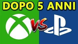 XBOX ONE vs PLAYSTATION 4 ► CHI VINCE DOPO 5 ANNI?