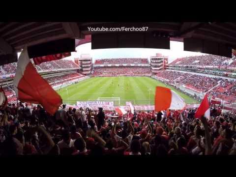 Independiente 1-1 Rafaela 2017 | La hinchada - La Barra del Rojo - Independiente