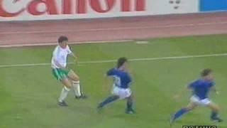 WM 1990: Franco Baresi Aktionen beim Turnier