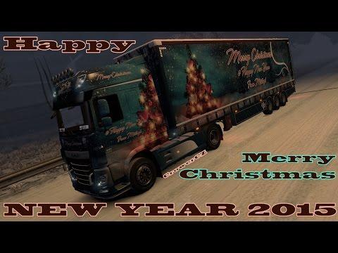 Daf Euro 6 & SDC Christmas