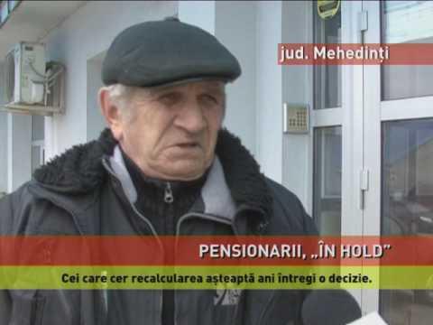 """Pensionarii din județul Mehedinți, puși """"în așteptare"""""""