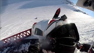 9. Riksgränsen Spring 2018 - Yamaha Sidewinder 162
