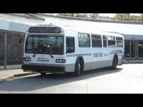 TC40102A - Welcome to my 200th upload! Take a ride onboard 9630, a 1996 NovaBus Classic TC40102A operated by the Niagara Frontier Transportation Authority (NFTA) in act...