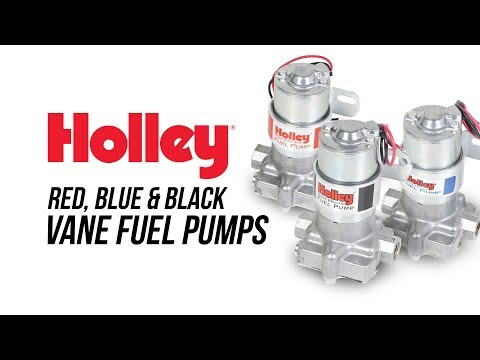 Holley Red, Blue & Black Vane Fuel Pumps