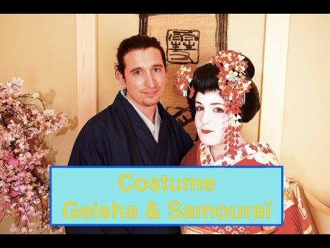 Costume Geisha - Rencontres Autour du Monde