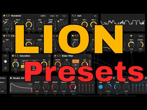 Unfiltered Audio LION Presets