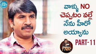 Actor Srinivas Reddy Exclusive Interview - Part #11 | Frankly With TNR | Talking Movies With iDream
