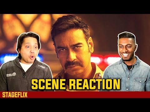 Simmba - Singham Entry Scene Reaction | Ajay Devgn | Ranveer Singh | Stageflix