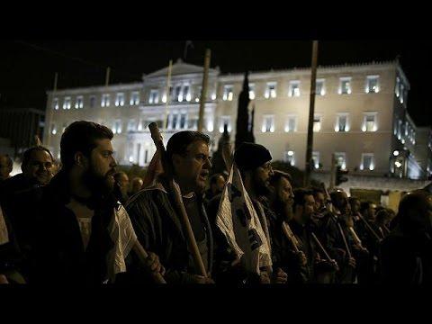 Αθηνά: Πορεία του ΠΑΜΕ κατά της λιτότητας