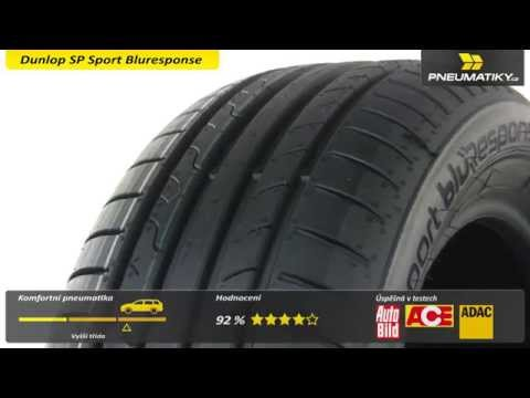 Youtube Dunlop SP Sport Bluresponse 205/50 R17 89 V Letní