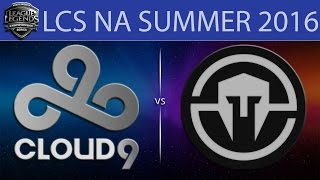 C9 vs IMT, game 2