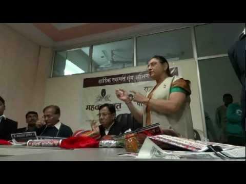 Proff. Nagar told her Priorities