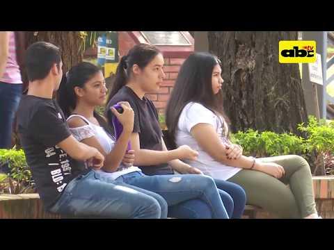 Jóvenes en las elecciones generales de Paraguay