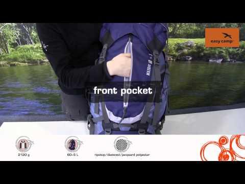 Відеоогляд рюкзака Easy Camp Matric 60+5