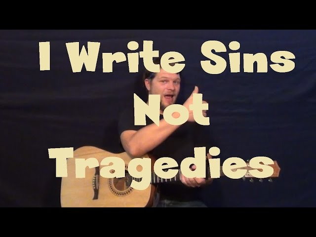 i write sins not tragedies download Free download panic at the disco - i write sins not tragedies [live from the death of a bachelor tour] mp3, panic at the disco - i write sins not tragedies for cello and piano (cover) mp3.
