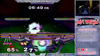 Westballz (Falco) vs Mango (Fox,Falco) Mayhem June 2015