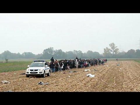 Ακολουθώντας τους πρόσφυγες από τη Συρία
